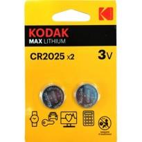 KODAK BAT. K2025, 3V, bl/2