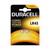 DURACELL BATERIJA LR 43, 1,5V bl/2
